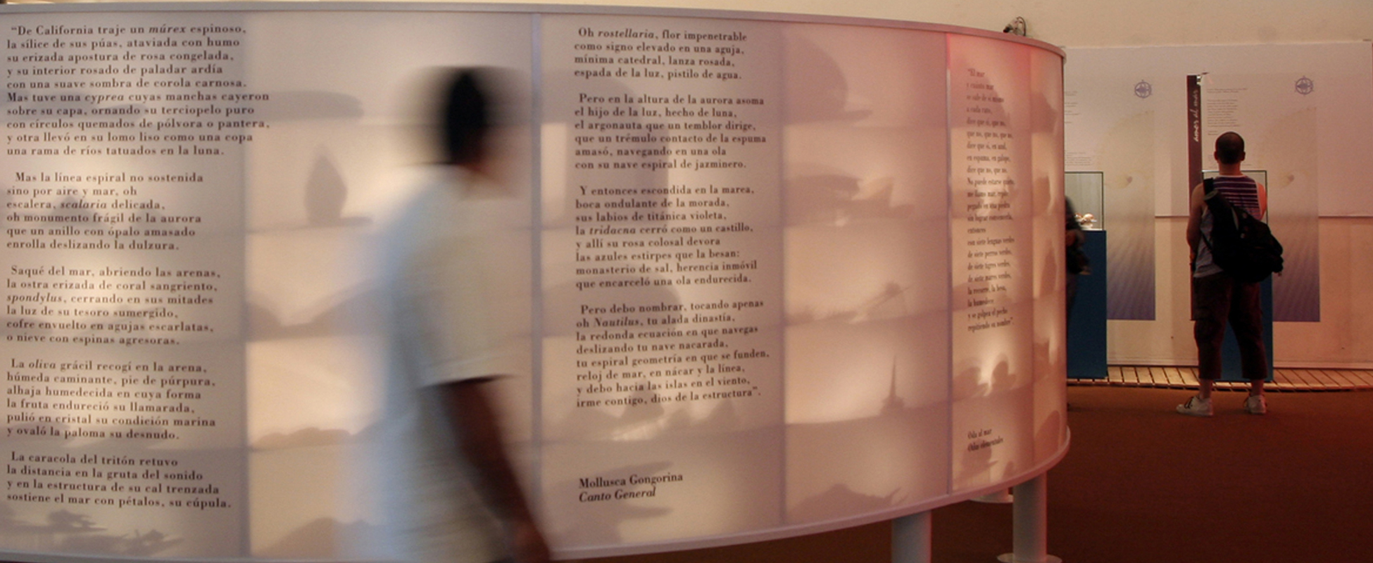 Museología Pablo Neruda | María José Larrosa, GP Creative Thinking