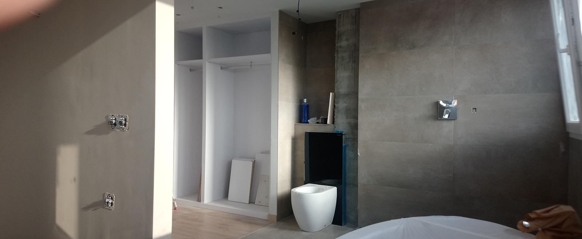 Diseño de Baño diáfano en Alaquas | GP Creative Thinking